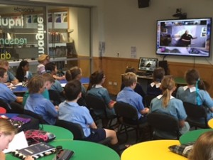 Year 6 videoconference